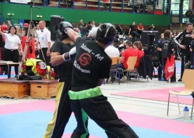 Tatami Kickboxen Wettkampf