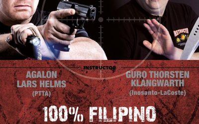 Ankündigung, Special Event – 100% Filipino Martial Arts am 27.01.2018 im Tatami Hannover